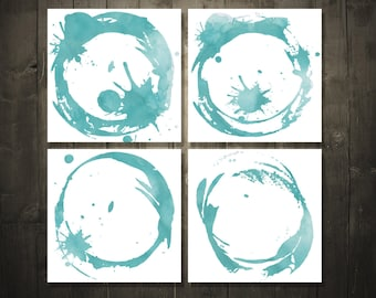 Water Splatter DIGITAL DOWNLOAD 4x4