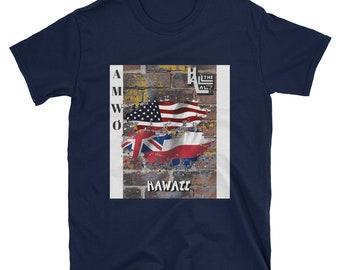 AMWO T-shirt - USA/Hawaii