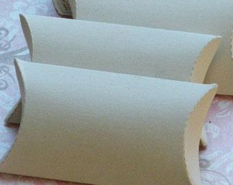 Pillow Box, White Pillow Box, Pillow Gift Box, Gift Box, Pillow Boxes, White Card Stock, 20 pc