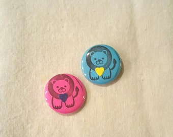 Lion - Button / pin