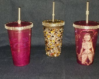 Tumblers, goblets, glasses, cups
