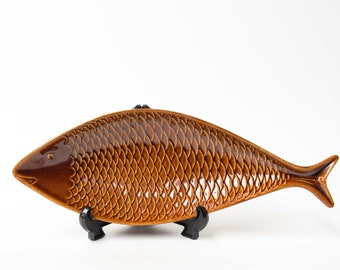 Stig Lindberg, Gustavsberg, Fish Bowl, Collectable Mid-Century Modern Design