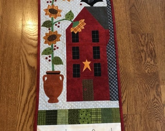 Farm family wall hanging
