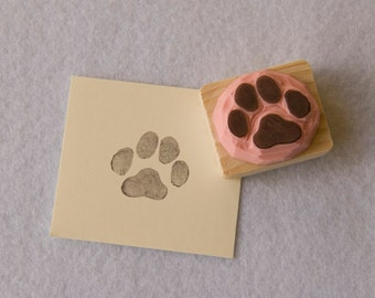 REF. 76 trace of cat / Cat paw print