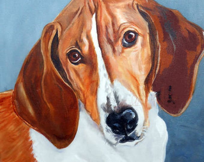 "Oil Painting Portrait of your dog, or any pet, 11"" x 14"" size Gift Certificate"