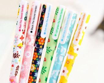 6pcs/set Color Random Creative Gel Pen Cute Pens Student Office Stationery  Gift