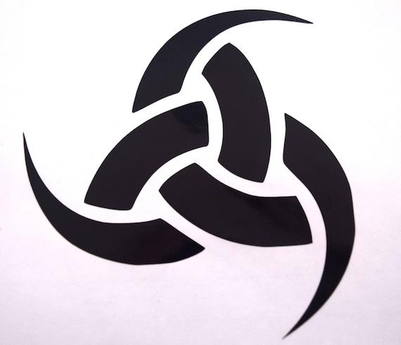 Triple Horn Of Odin Celtic Knot Triforce Odin Symbol Vinyl