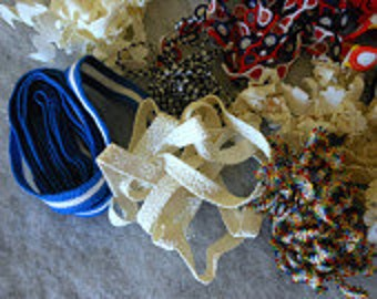 Decorative Trim, Roping, Cording, Braid, Sequins for Crafting Lot 6