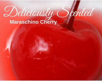 MARASCHINO CHERRY Fragrance Oil ~ 2 or 4 oz for candles, soap, perfume oil, cosmetics, soap making, concentrated, pure, skin safe, supply