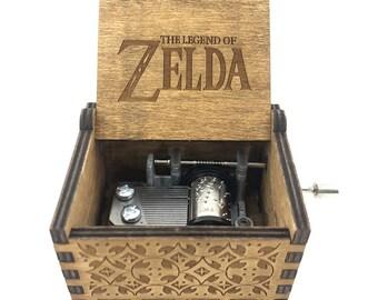 Zelda Hand Made Music Box   legend of zelda   the legend of zelda   zelda gift   wood music box