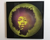 Jimi Hendrix spray paint ...