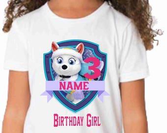 Paw Patrol Birthday t-shirt-Paw patrol birthday shirt