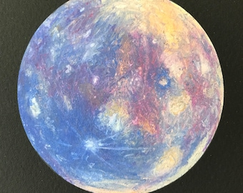 Planet Mercury Giclee Print - 4x4
