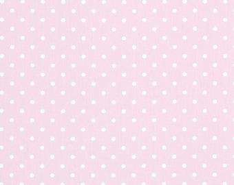 Fabric Bella Pink MINI DOT Premier Prints Home Decor Fabric Twill