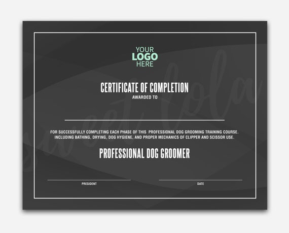 Zertifikat-Vorlage Instant Download Zertifikat Abschluss