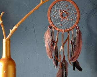 Dream catcher Native american dreamcatcher Authentic natural dreamcatcher Gypsy decoration Wall hanging Nursery decor Bedroom wall decor