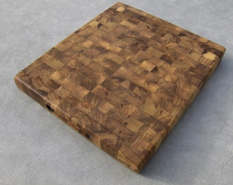 Myrtlewood End Grain Cutting Board