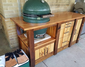 Green Egg Grill Table