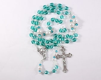 Teal Rosary