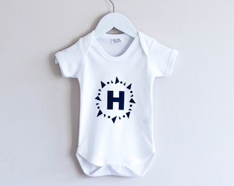Personalised Initial Babygrow