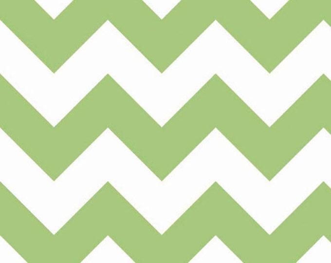 Half Yard Large Chevron - Green - Cotton Quilt Fabric - C330-30 - Riley Blake Designs (W2479)