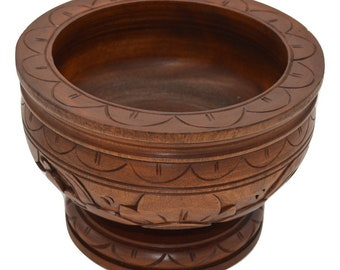 Hand Carved Trinket Bowl - Bali