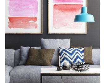 Abstract Wall Art, Print Set, Abstract Watercolor, Abstract Art Print, Pastel Art, Large Abstract Art, Minimalist Art,Large Print,Modern Art