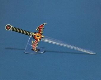"""Glass Baron Sword """"Eye of the Dragon"""" Large"""