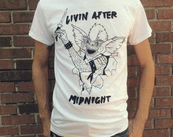 Gremlins Punk Stripe 80s Judas Priest Shirt