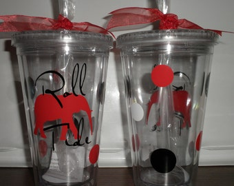 Alabama Roll Tide Tumbler