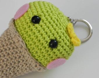 Ally- Rosalie's best friend and crochet keychain