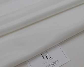 Ivory lining fabric by the yard, wedding fabric, skirt fabric, lining, bridal fabric, GC3066