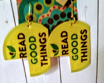 Positivity Recycled Earrings