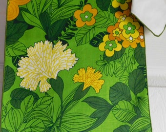 Vintage Floral Placemats and Napkin Set-Eight Piece Set for Four