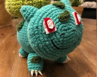 Bulbasaur Pokemon Amigurumi