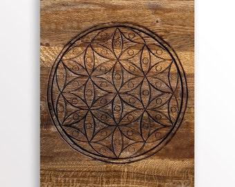 Crystal Grid. Layout Sheet. Wood Pattern. Grid Sheet. Seed of Life. Sacred Geometry. Crystal Grid. Crystal Grid Layout. Crystal Grid Mat.