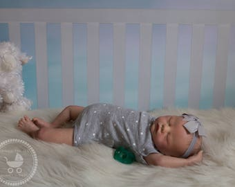 Reborn baby (Sera) Girl or Boy| OOAK Hand Painted Doll| Made to Order
