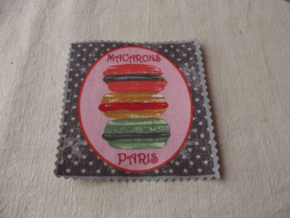 PASTRY 21 - FUSIBLE COTTON APPLIQUE