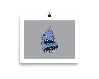 Floating monsterPoster