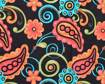 Sassy Paisley by Sandy Gervais for Moda 1 Yard
