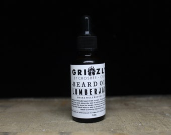 LUMBERJACK Beard oil Scent beard care, all natural beard, dad gift, Gift for men, gift under 10, stocking stuffer, Beard Conditioner