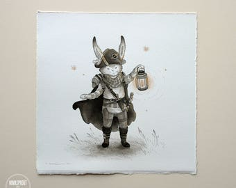 Rabbit Rogue - Original Painting