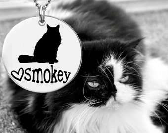 Himalayan Cat | Cat Pendant | Cat Lover | Cat Jewelry | Cat Necklace | Cat Gift | Personalized Gifts | Korena Loves