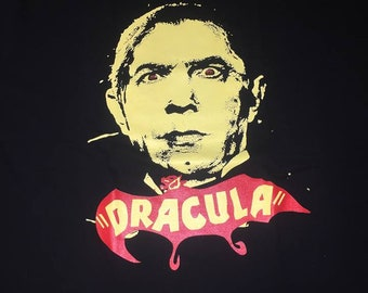 Dracula Count Dracool Vlad The Impaler Yellow Design shirt