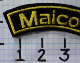 """Vintage """"Maico"""" Motorcycle Patch (002)"""