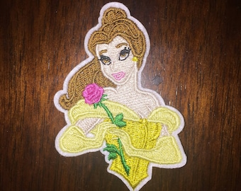 Belle from Beauty and the Beast iron on patch