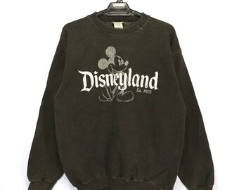 Vintage Disney Mickey Mouse Disneyland Resort sweatshirt