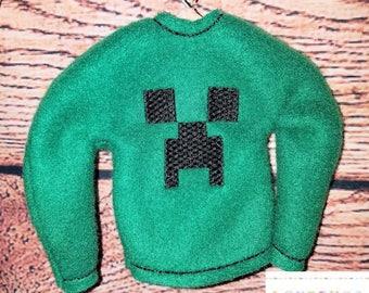 Elf/Doll Creeper Sweater *Fits Standard skinny elves