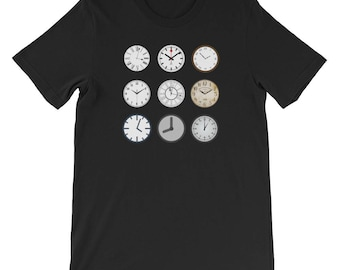 T-Shirt-sablier TIC-TAC des horloges grand-père temps Turner