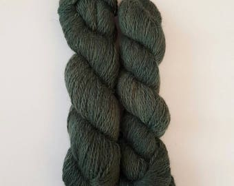 Superfine Alpaca Aran Weight STORMY WATERS Hand Dyed Tonal Variation